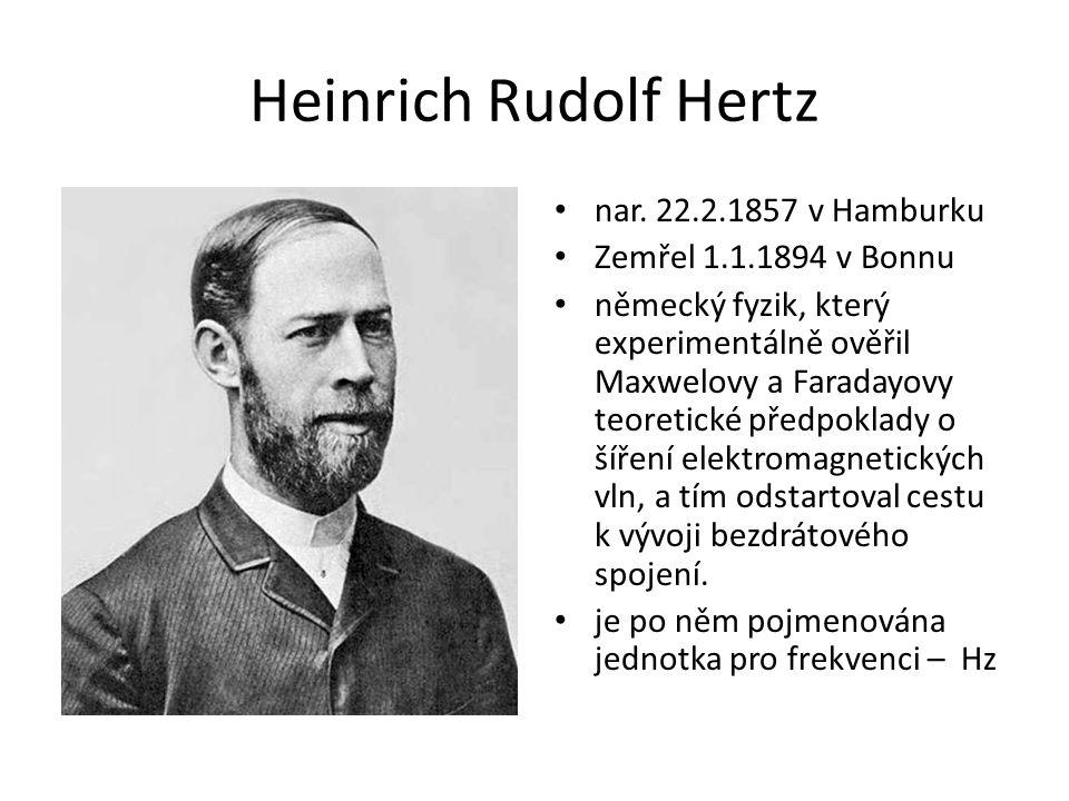 Heinrich Rudolf Hertz nar.