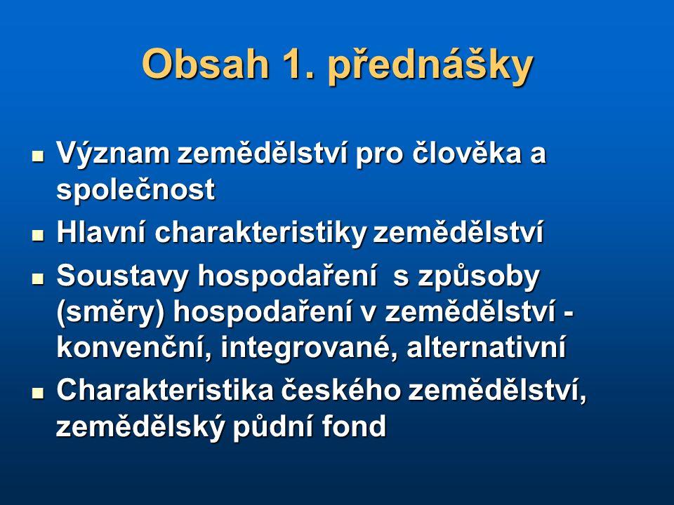 Struktura půdního fondu ČR (k 31.12.2004) Půdní fond ČR 7 886 tis.