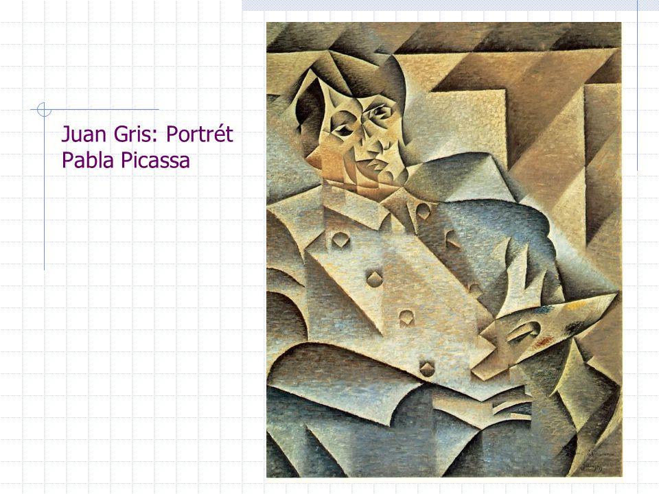 Juan Gris: Portrét Pabla Picassa