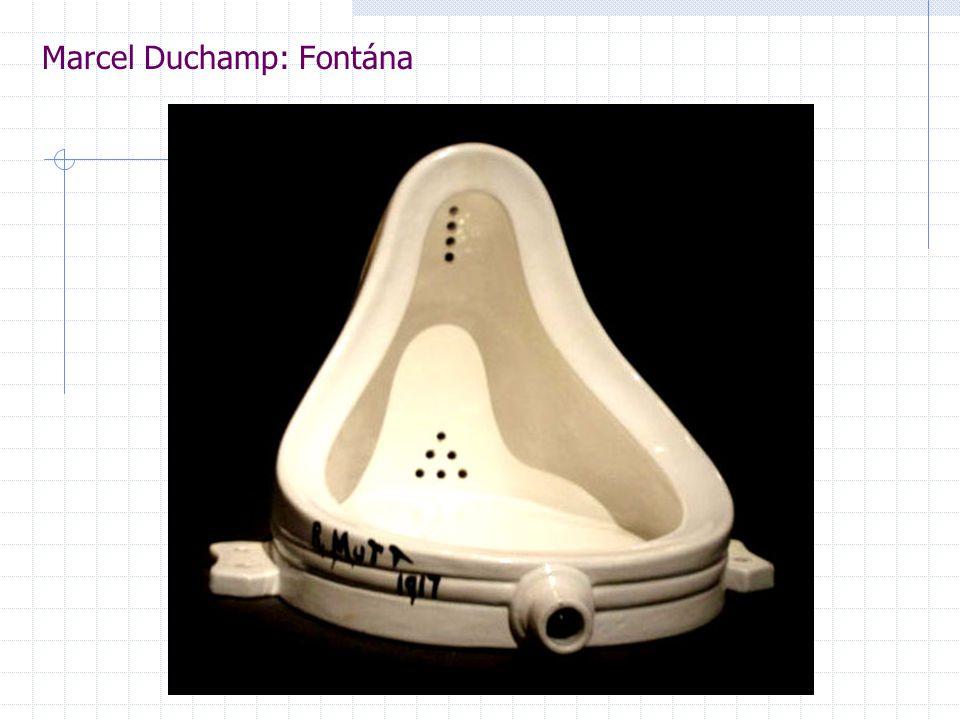 Marcel Duchamp: Fontána