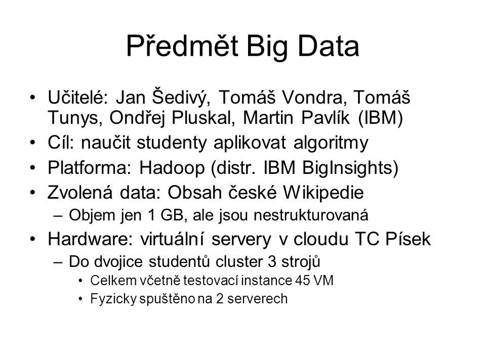 Hadoop on cloud 3 ●Implementations: o Public:  Amazon Elastic MapReduce  Microsoft HDInsight  Rackspace Big Data Platform o Private  VMware Serengeti -> Big Data Extensions  OpenStack Savanna o This list is not exhaustive.