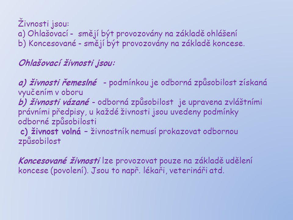 Úkol: (použij http://portal.gov.cz)http://portal.gov.cz 1.V živnostenském zákonu č.455/1991 Sb.