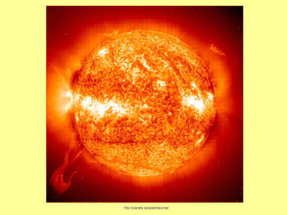 hvězda, žhavá plynná koule http://www.astro.cz/clanek/tisk/2624