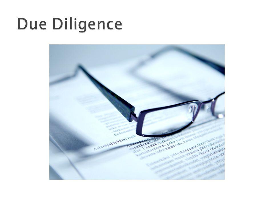  Poprvé se objevila v USA v souvislosti s Securities Act 1933  Pojem Due Diligence byl tehdy použit jako jistý druh ochrany pro makléře při nákupu cenných papírů  Termín se původně týkal veřejných investic, postupem času se rozšířil i do soukromého sektoru.