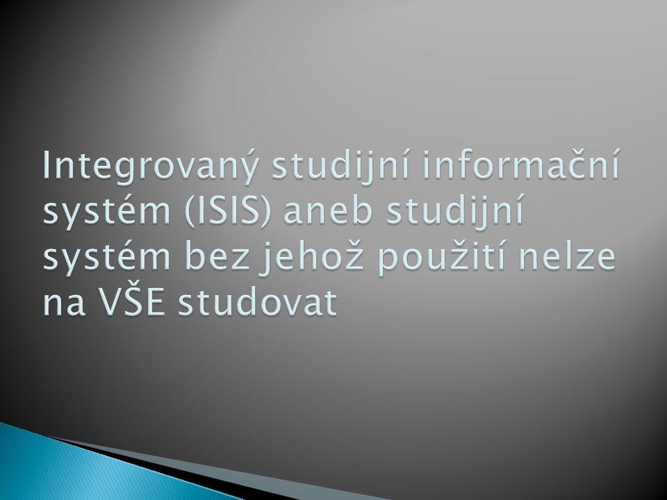  do dvou dnů po zápisu ke studiu získáte uživatelské jméno a heslo: ◦ přes isis.vse.cz – přihlásíte se ke svojí přihlášce ke studiu a tam se Vám zobrazí jméno a heslo, ◦ na místnosti SB 22 (recepce výpočetního centra) po předložení dokladu totožnosti, úřední hodiny viz http://vc.vse.cz/sluzby/helpdesk/ ◦ repetenti již jméno a heslo mají (i identifikační kartu)