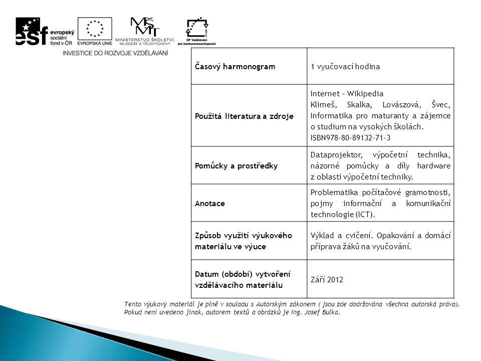 5.Elektronické vzdělávání (e-learning) Jako základní prostředek na zprostředkování informací je využíván počítač, který pracuje s lokálními informačními zdroji a zároveň umožňuje připojení do LMS (Learning Management System - systém na řízení vyučování) prostřednictvím webového vyhledávače.