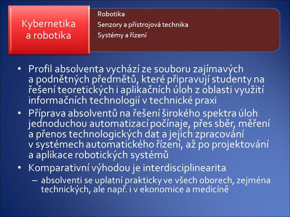 Profil absolventa vychází ze souboru zajímavých a podnětných předmětů, které připravují studenty na řešení teoretických i aplikačních úloh z oblasti v
