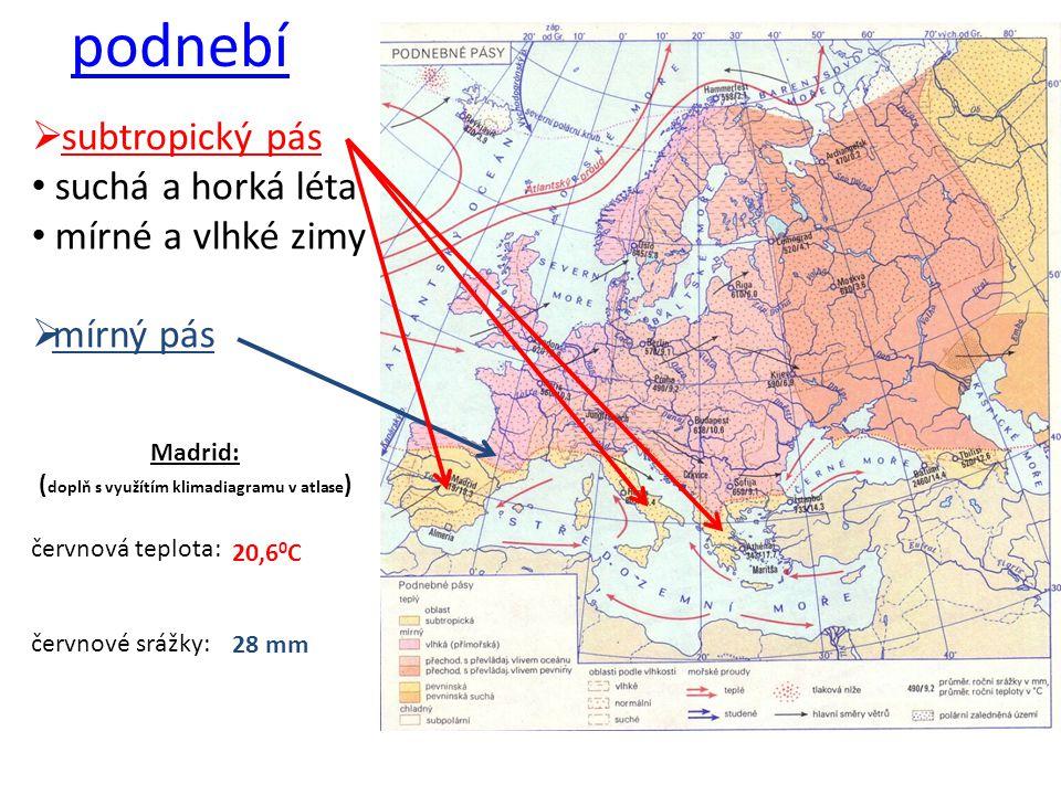 povrch převážně hornaté státy doplň názvy hor a ukaž je na mapě 45 o s.š.