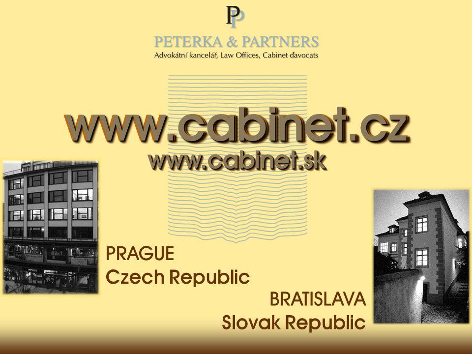 www.cabinet.skwww.cabinet.skwww.cabinet.skwww.cabinet.sk www.cabinet.czwww.cabinet.czwww.cabinet.cz www.cabinet.cz PRAGUE Czech Republic BRATISLAVA Slovak Republic