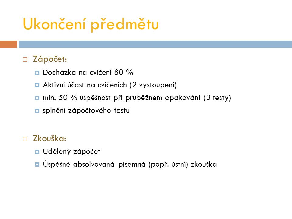 Literatura - doplňková  SIRŮČEK, P., NEČADOVÁ, M.