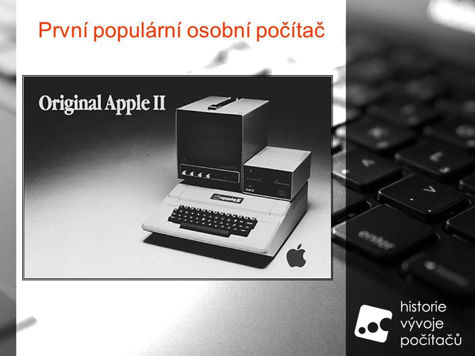 První populární osobní počítač
