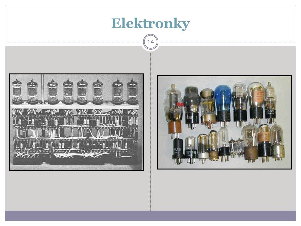 Elektronky 14