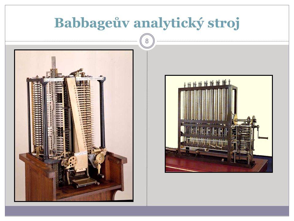 Babbageův analytický stroj 8