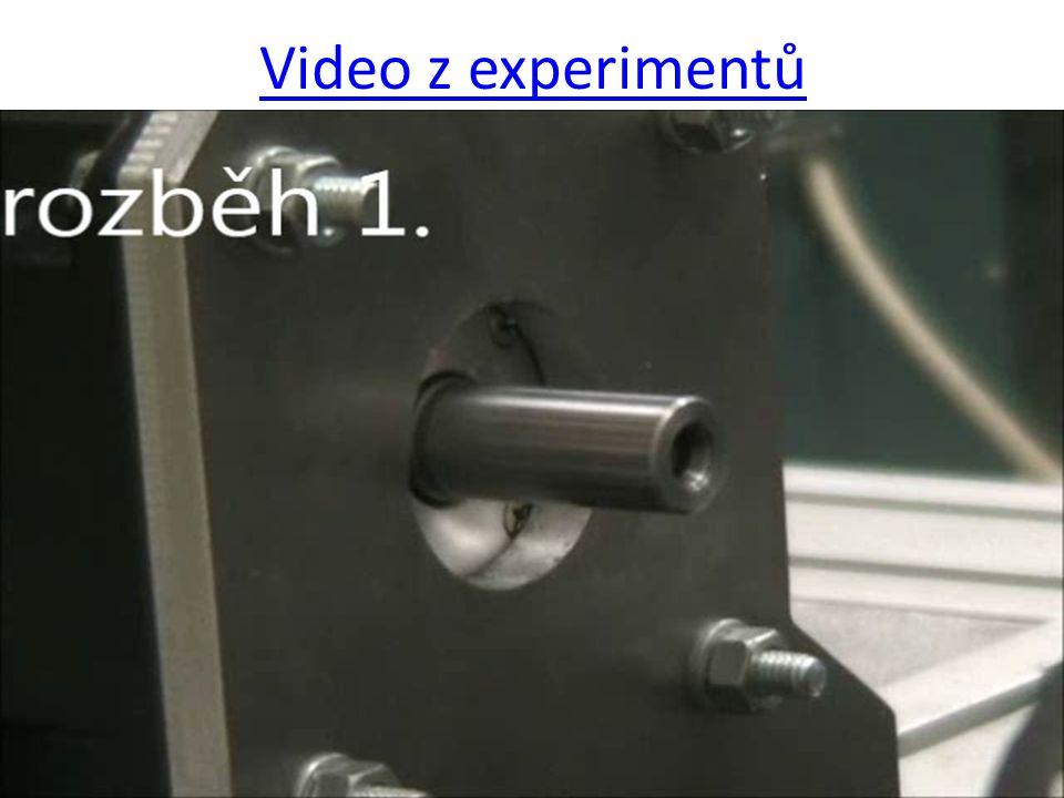 9 Video z experimentů