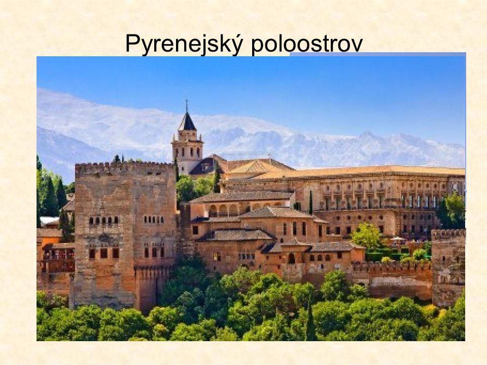 Pyrenejský poloostrov ovládnut muslimy během 8.st.