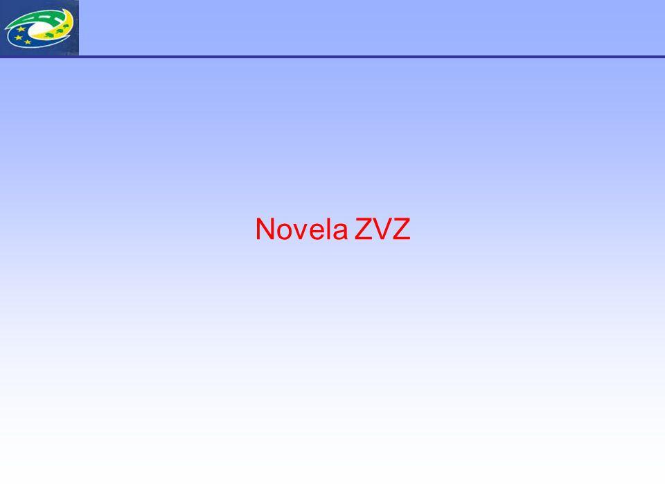 Proč novela ZVZ .Rok 2008 - příprava novely ZVZ Důvod: Směrnice EP a Rady 2007/66/ES z 11.12.