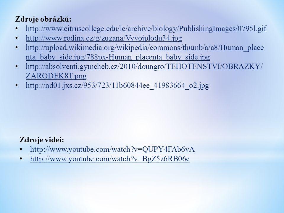 Zdroje obrázků: http://www.citruscollege.edu/lc/archive/biology/PublishingImages/0795l.gif http://www.rodina.cz/g/zuzana/Vyvojplodu34.jpg http://uploa