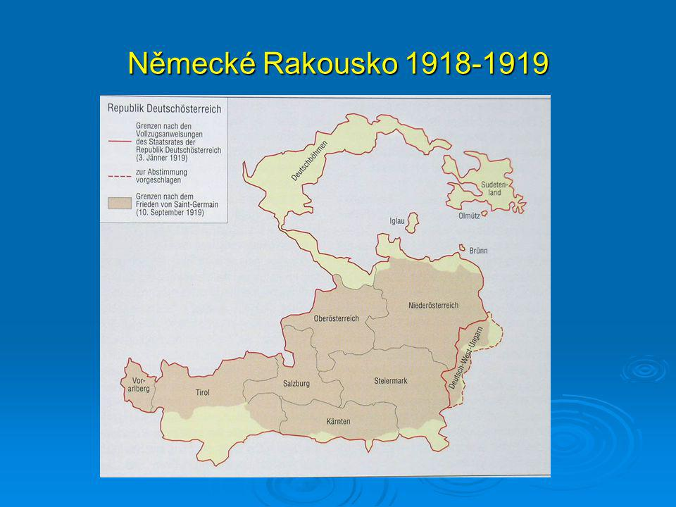 Německé Rakousko 1918-1919