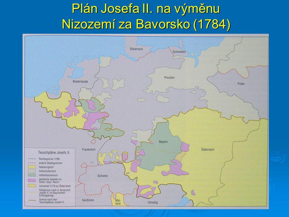 Plán Josefa II. na výměnu Nizozemí za Bavorsko (1784)