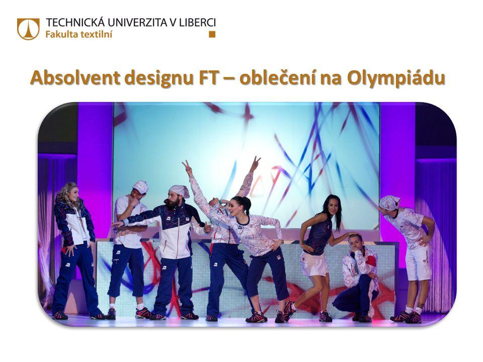 Absolvent designu FT – oblečení na Olympiádu