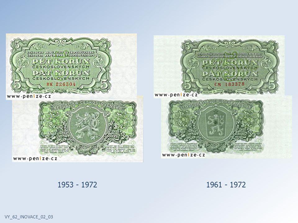 VY_62_INOVACE_02_03 1953 - 19721961 - 1972