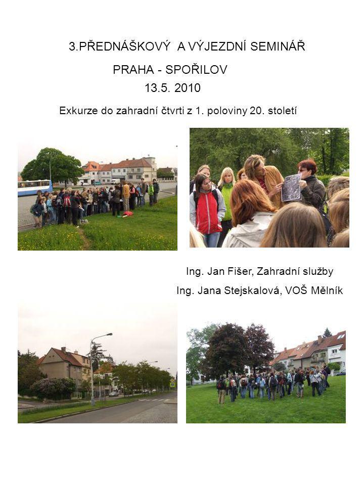 PRAHA - SPOŘILOV Ing.Jan Fišer, Zahradní služby Ing.