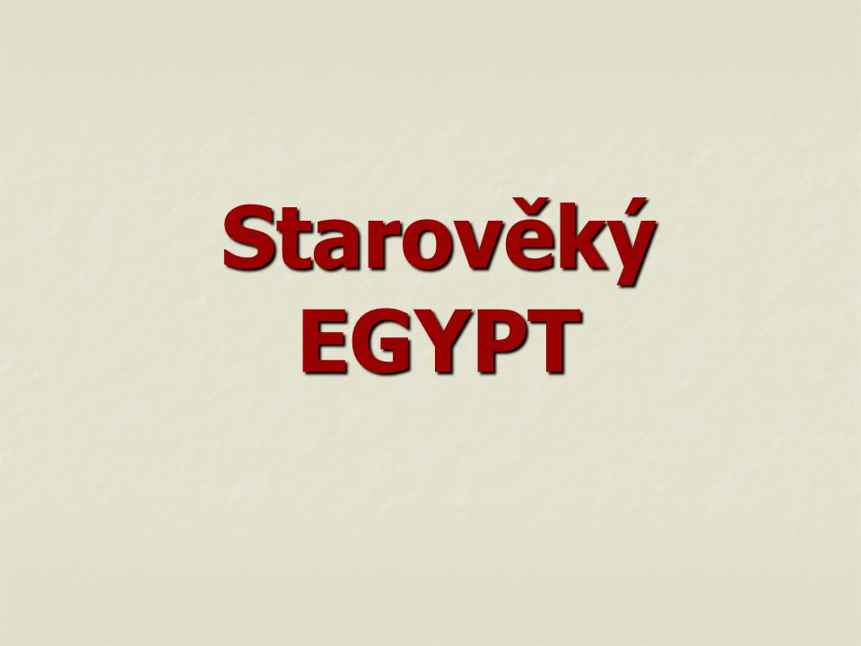 """Egypt - dar Nilu"