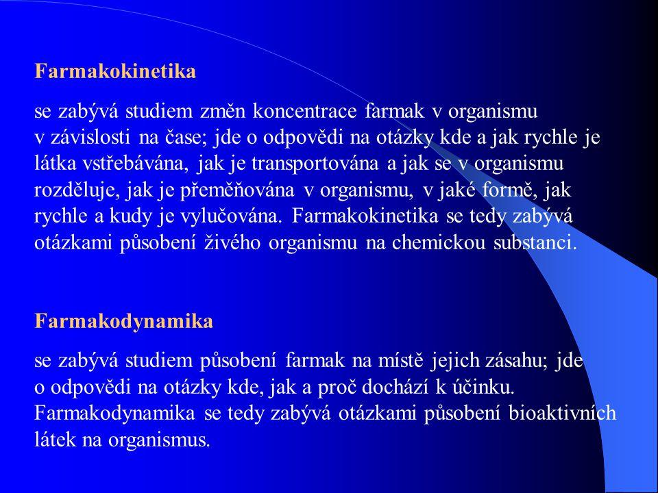 Biochemická farmakologie (molekulární farmakologie) vysvětluje specifické působení farmak na úrovni molekulární.