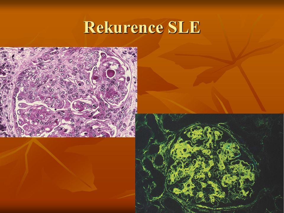 Štěp není nikdy organismem přijat za vlastní.Pacienti musí být trvale imunosuprimováni.