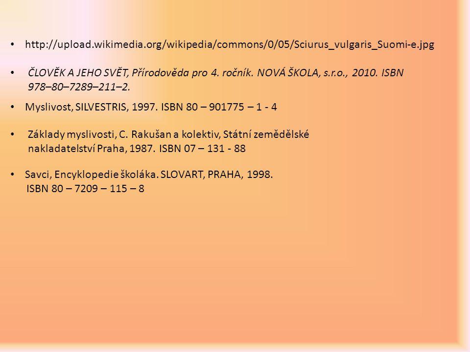 http://upload.wikimedia.org/wikipedia/commons/0/05/Sciurus_vulgaris_Suomi-e.jpg ČLOVĚK A JEHO SVĚT, Přírodověda pro 4. ročník. NOVÁ ŠKOLA, s.r.o., 201