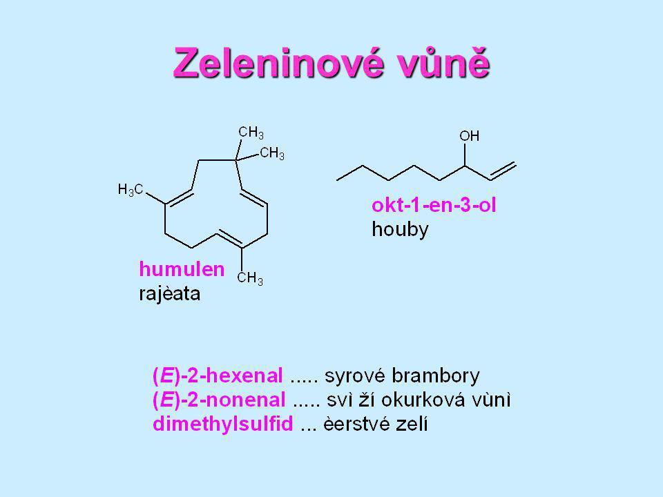 Pelyněk pravý obsah - 2 % silice (více než 20 sloučenin) hlavní složka silice - β -thujon (60 %) jedovatý, způsobuje trvalé degenerativní změny centrální nervové soustavy další složky pelyňku - intenzivní hořčiny absinthin (v nadzemních částech rostliny) a artabsin, aglykony glykosidů guajanolidů, s číslem hořkosti kolem 10 mil.