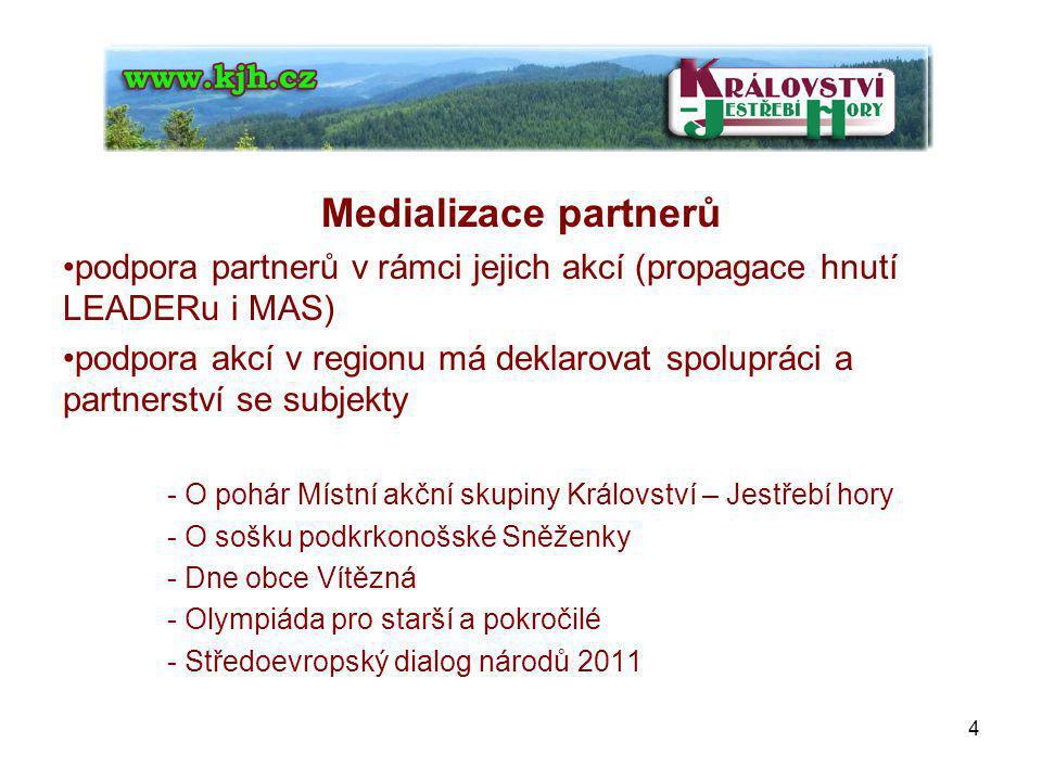Medializace obecně prospěšné společnosti tiskové zprávy - pro web kjh.cz - rozesílání do ostatních médií 5