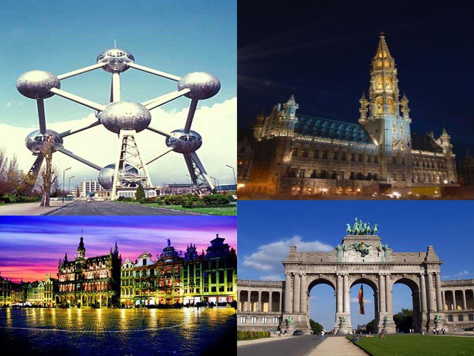 Z Belgie pochází hranolky Z Belgie pochází hranolky Evropský parlament Evropský parlament Atomium Atomium Belgie je místem kranevalů a průvodů v historických kostýmech Belgie je místem kranevalů a průvodů v historických kostýmech Belgie je také jako Nizozemí zemí větrných mlýnů.