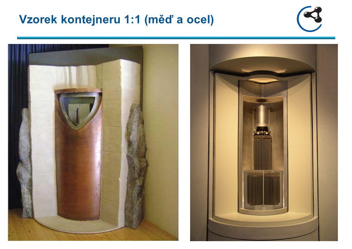 Vzorek kontejneru 1:1 (měď a ocel)