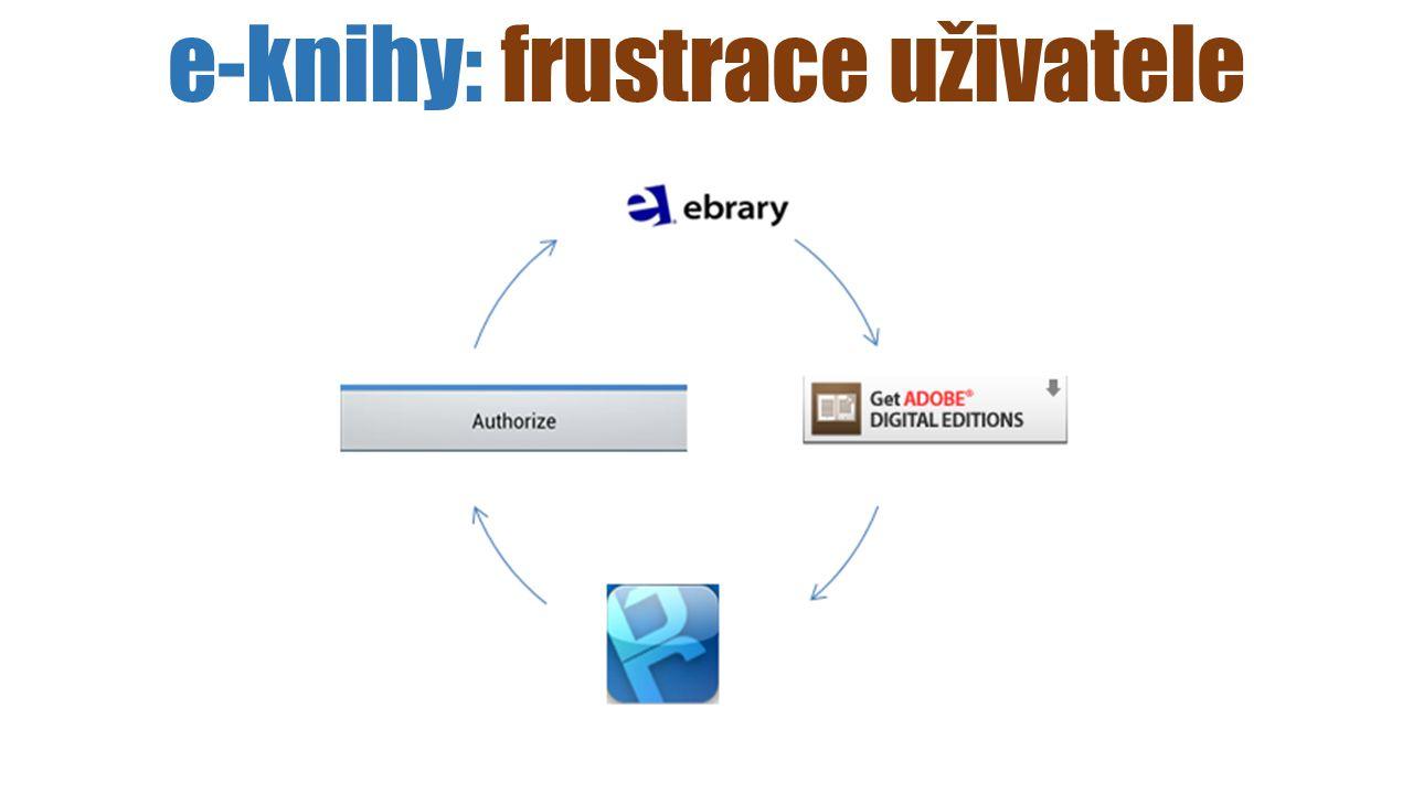 e-knihy: frustrace uživatele