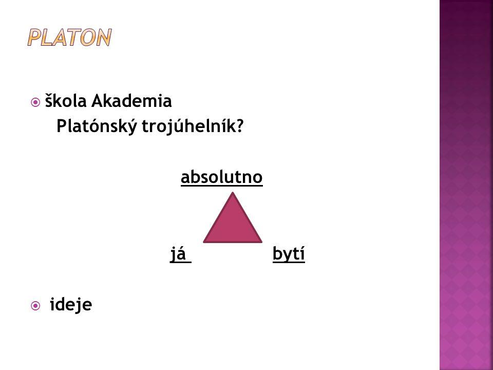  škola – Lykeion  Organom, Politika  látka – tvar; (jednota jedinečného a obecného)