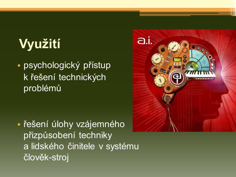 KLINICKÁ PSYCHOLOGIE uplatňuje se v lékařství zkoumá se, jak se nemoc promítá do duševního života je použití psychologie k problematickému duševnímu přepětí ve zdraví a sociální péče
