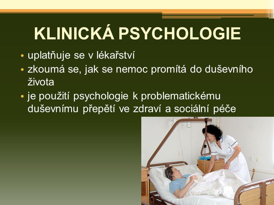 Využití diagnostikuje psychické změny pomáhá při léčbě odborníci se mohou specializovat na: ▫ nepořádky nálady (deprese) ▫ stravovací poruchy (anorexie nebo bulimie) ▫ učit se nepořádky (zranění mozku)