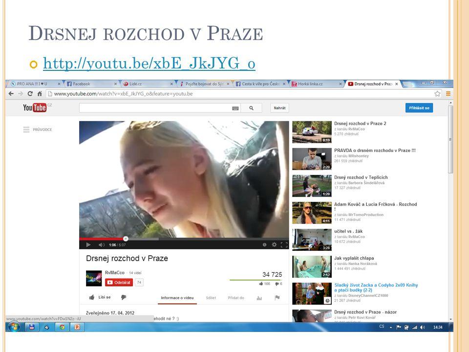 D RSNEJ ROZCHOD V P RAZE http://youtu.be/xbE_JkJYG_o 5
