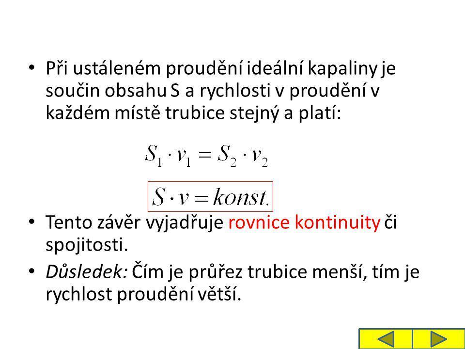 Úloha 1: a) Vypočítejte, jaký je objemový průtok vody v trubici o poloměru 3 cm při rychlosti proudění 4 m.s -1.