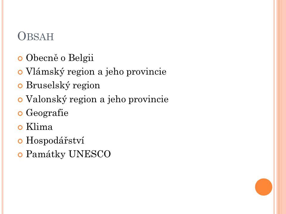 H ENEGAVSKO Dělí se na 7 okresů a zahrnuje 69 obcí