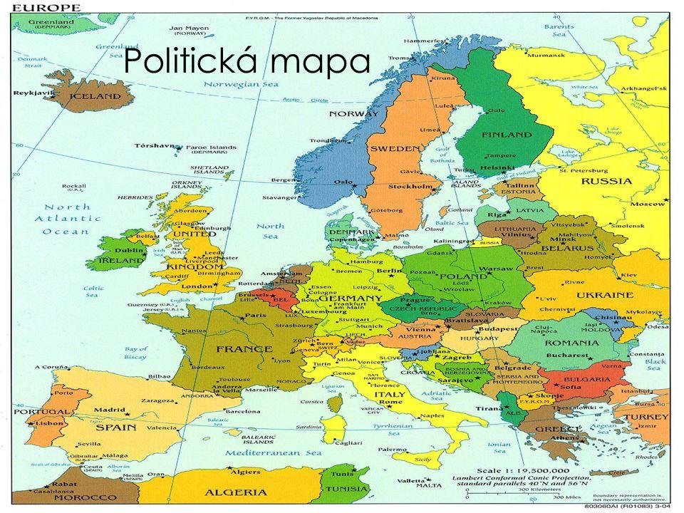 Politická mapa