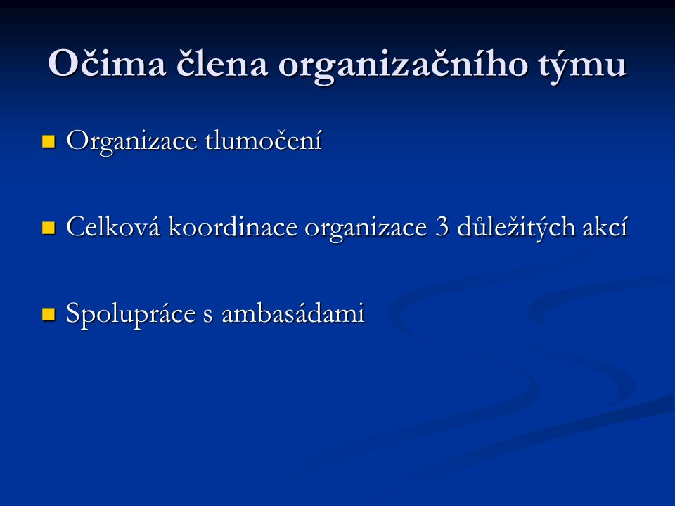 Cca od 15.11.2008 sledujte www.eu2009.cz www.eu2009.czwww.eu2009.cz A přejme si všichni úspěch.