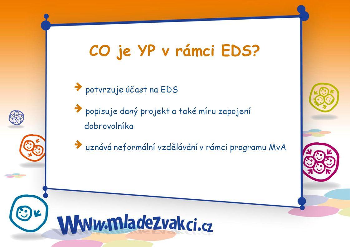 CO je YP v rámci EDS.
