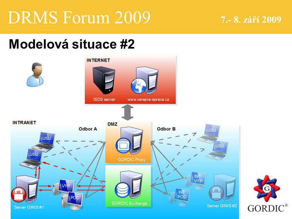 DRMS Forum 2009 7.- 8. září 2009 Modelová situace #2