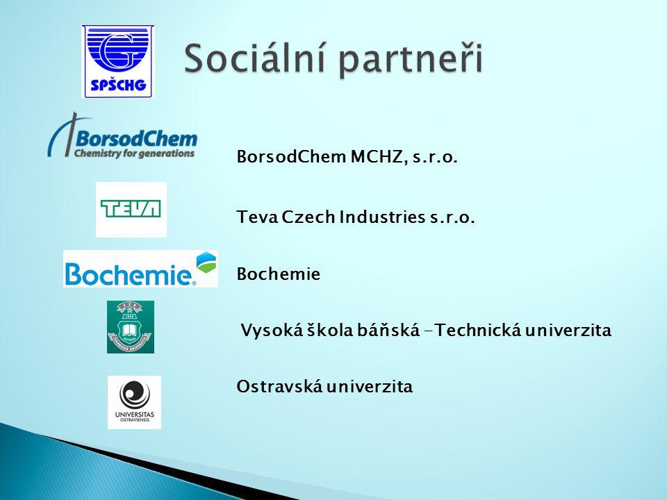 BorsodChem MCHZ, s.r.o. Teva Czech Industries s.r.o.