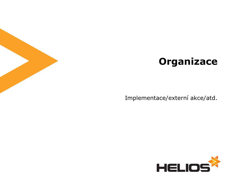 Implementace/externí akce/atd. Organizace