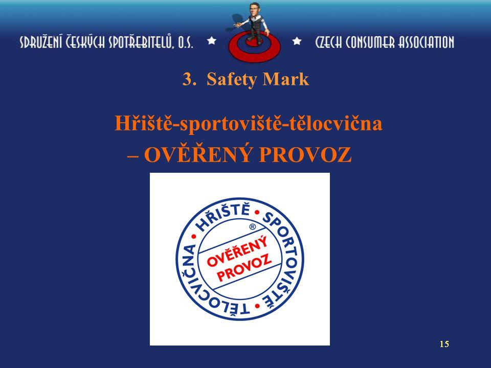 15 3. Safety Mark Hřiště-sportoviště-tělocvična – OVĚŘENÝ PROVOZ