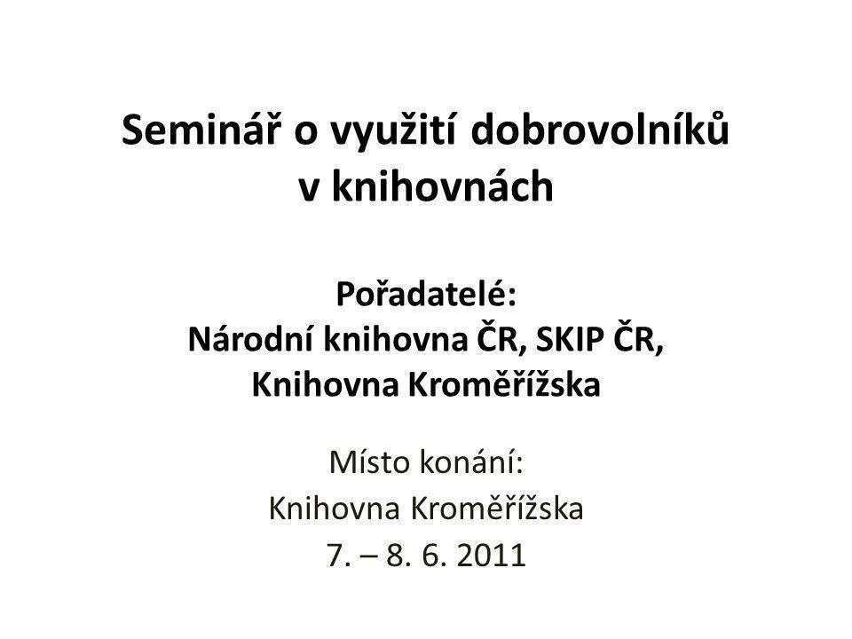 Program PhDr.Jiří Tošner, (Hestia, o.s., Národní dobrovolnické centrum) Mgr.