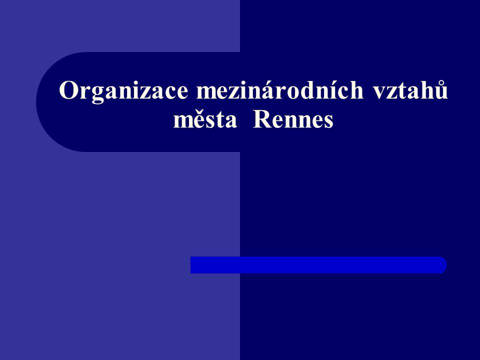 Organizace mezinárodních vztahů města Rennes